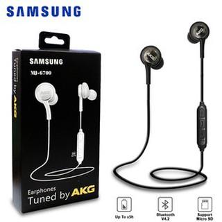 Samsung Akg Mj6700 Wireless Bluetooth Earphones Headset Micro Sd In Shopee Malaysia