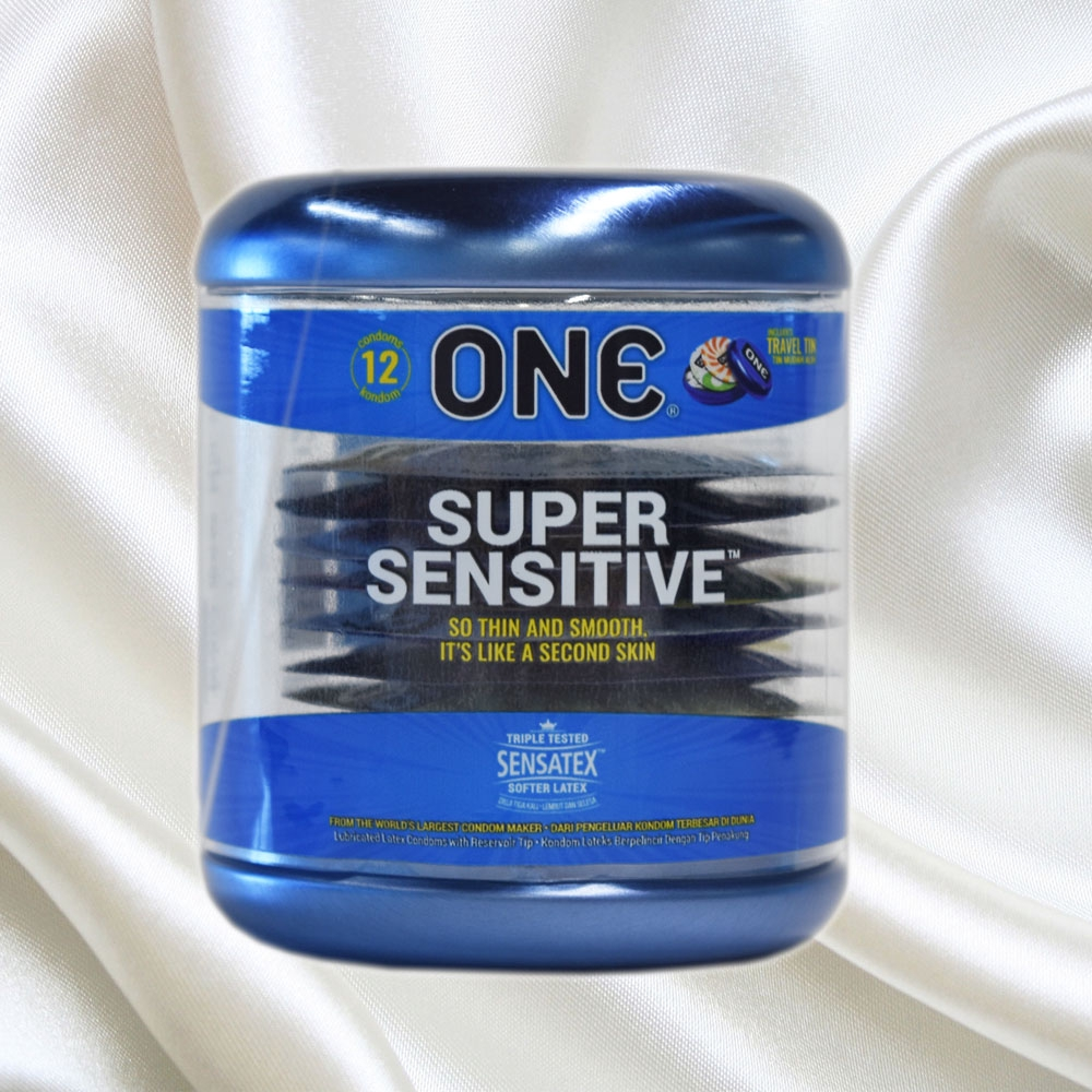One Condom Super Sensitive 12s Thin Extra Lubricated Condoms