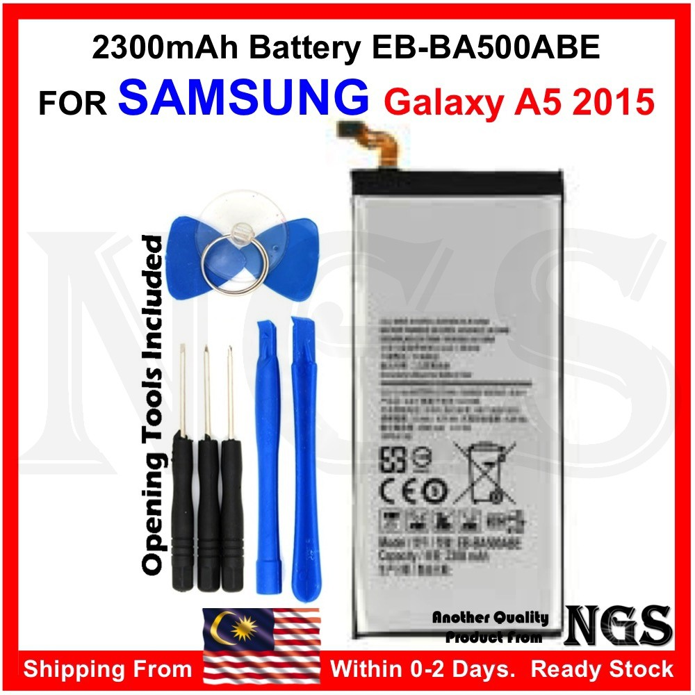 Brand New 2300mAh Battery EB-BA500ABE for Samsung Galaxy A5 2015 A500 with  Opening Tools