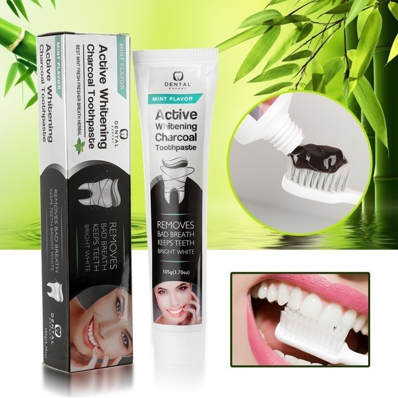 New Activated Charcoal Whitening Charcoal Bamboo Toothpaste Charcoal All-purpose Teeth Toothpaste .