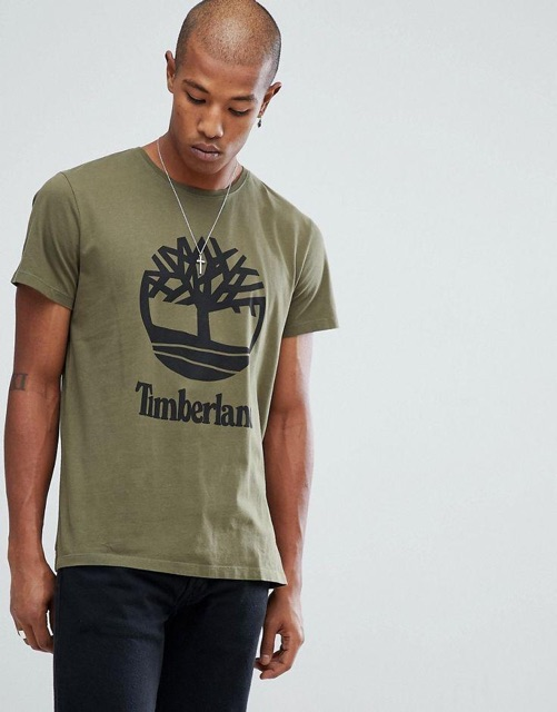 Timberland Unisex Originals T-Shirt Round Neck 100% Cotton Imported 1-2 Day Delivery