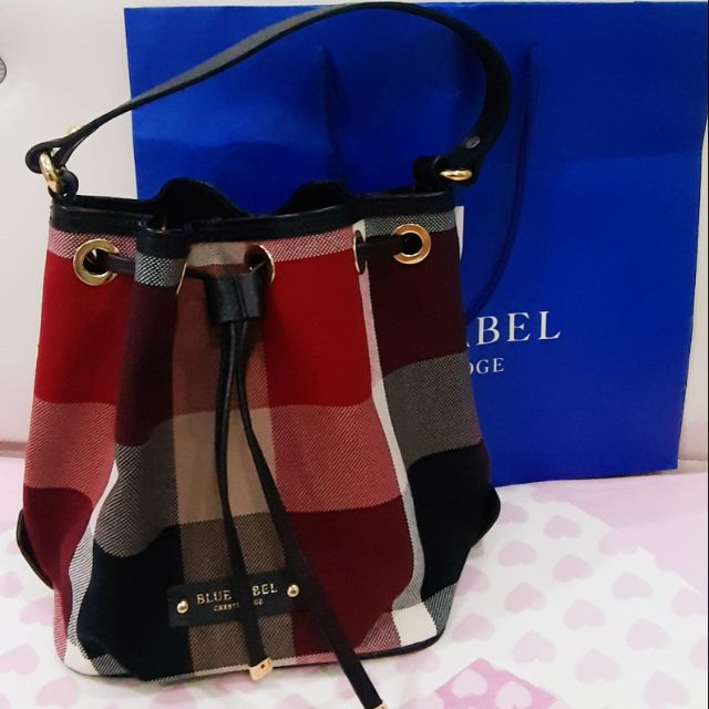 blue label bag