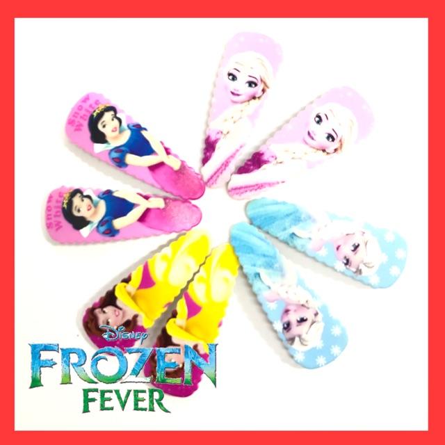Buy All 5 Sets Disney Frozen Princess Hair Clip Get Free 1 Set Frozen Fever Stationary Set