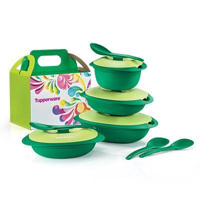 Emerald Blossom Set Tupperware Brands