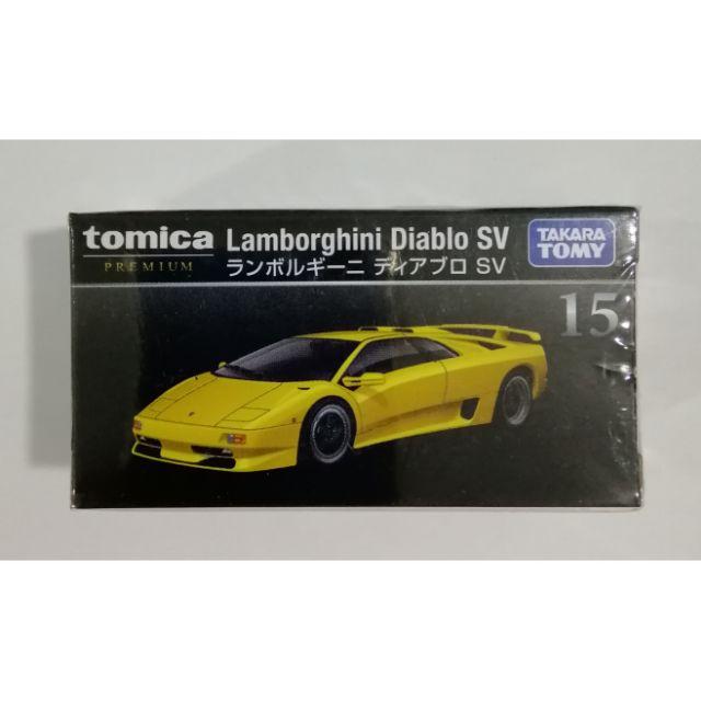 Tomica Premium Series No 15 Lamborghini Diablo Sv Shopee Malaysia