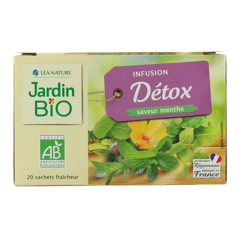 Jardin Bio Detox Herbal Tea 30g X 20 Sachets Shopee Malaysia