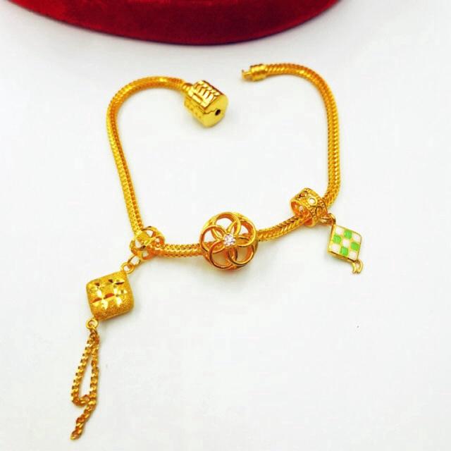 Masdora Charms and Beads Emas ~ Raya Series (Emas 916)