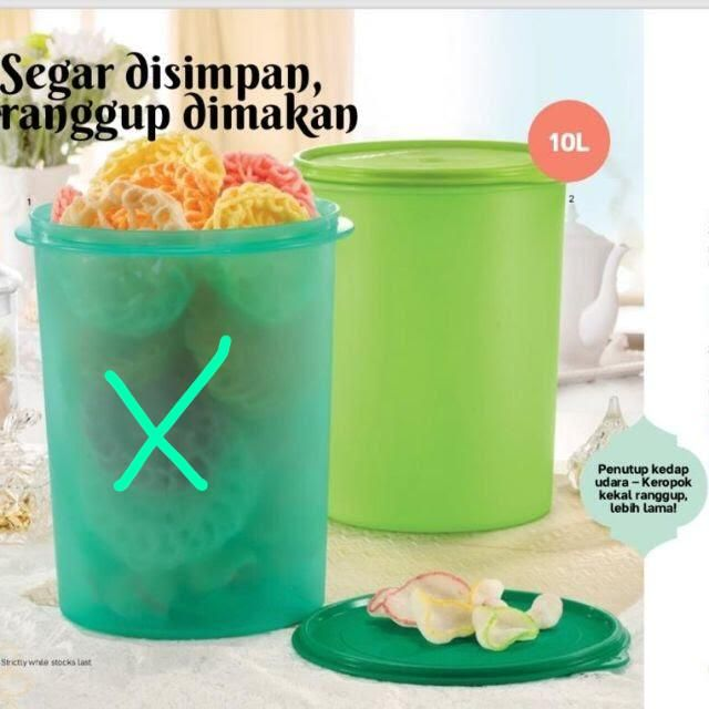 Tupperware Giant canister 10L