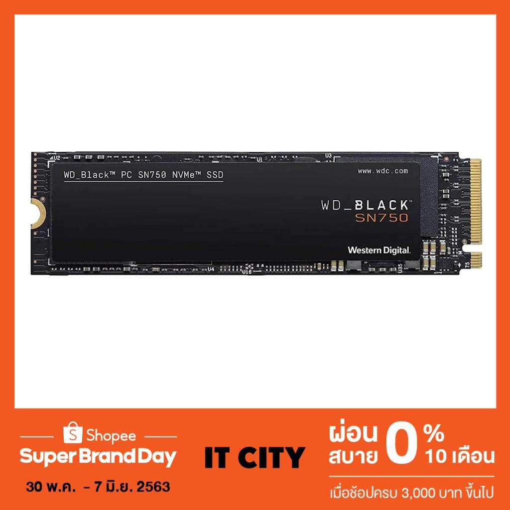 WD BLACK SN750 250GB SSD NVMe M.2 2280