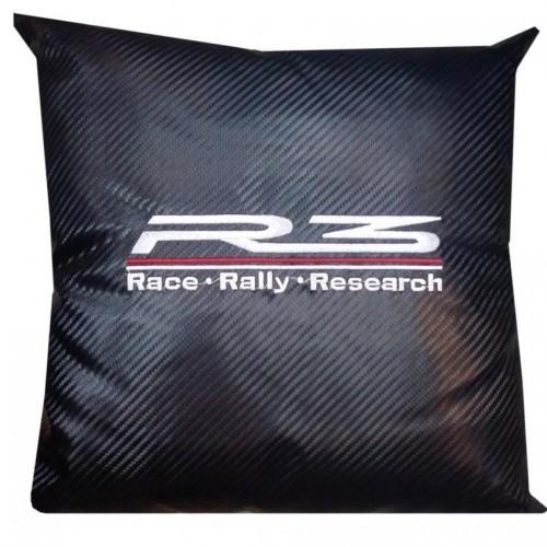 R3 Carbon Micro-fibre Car Pillow