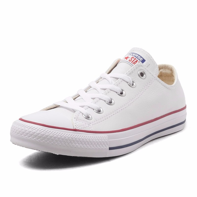 69c3f53d33 Converse All Star Skateboarding shoes Unisex Low Classic Canvas Sneakers  White