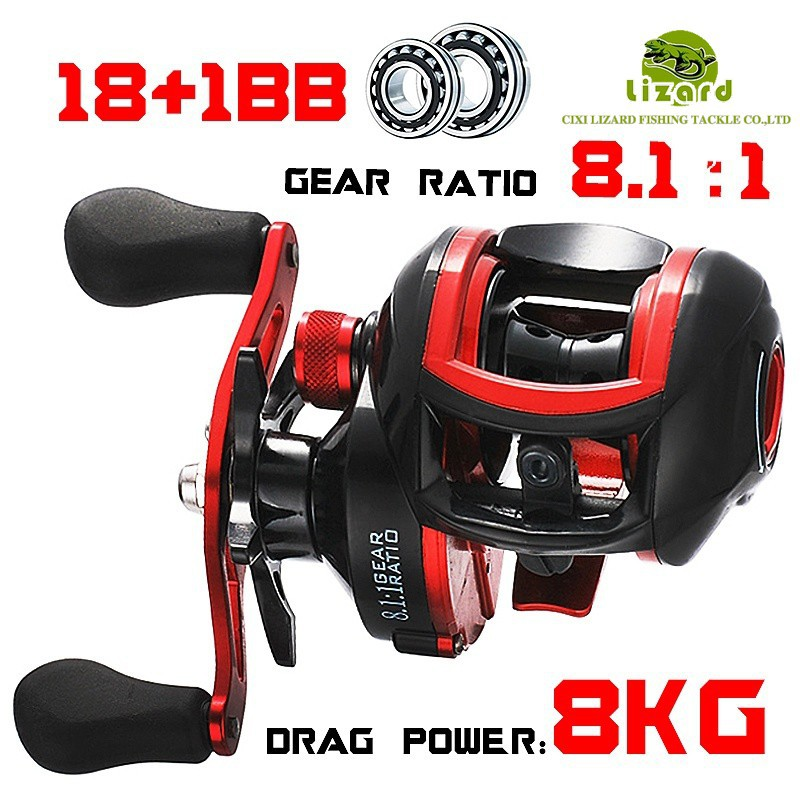 Catzon®11 BB Fishing Reel Left and Right Hand 6.3:1 High Speed LIEYUWANG®LC3000 | Shopee Malaysia
