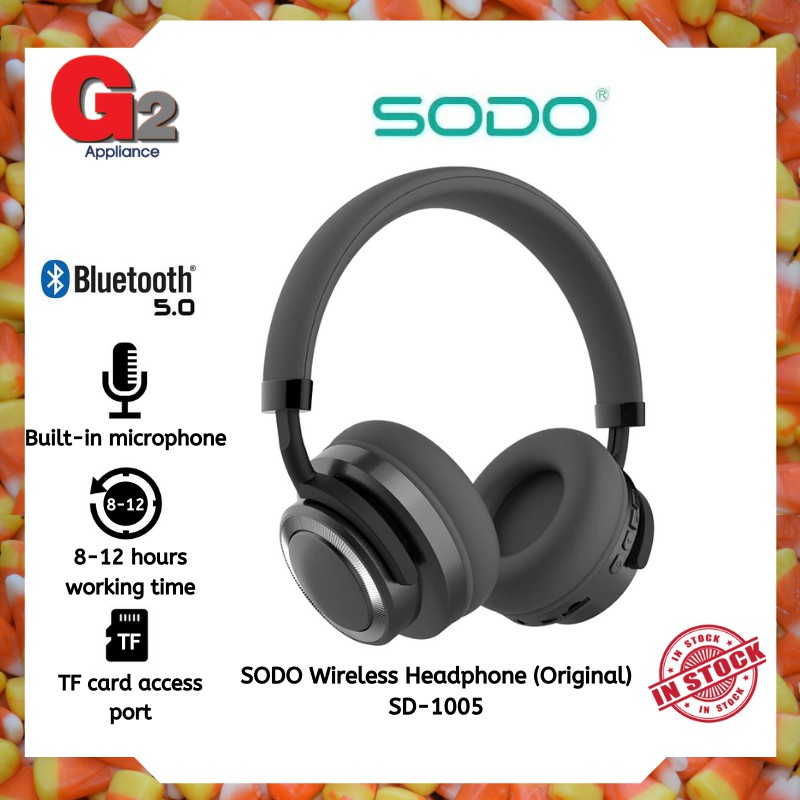 SODO Wireless Headphone (Original) SD-1005