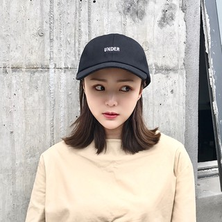 285bf81350bd3  VIVIAN Ready stock Korean Fashion Hat female Korean summer simple small  letters wild baseball hat men and women tide le