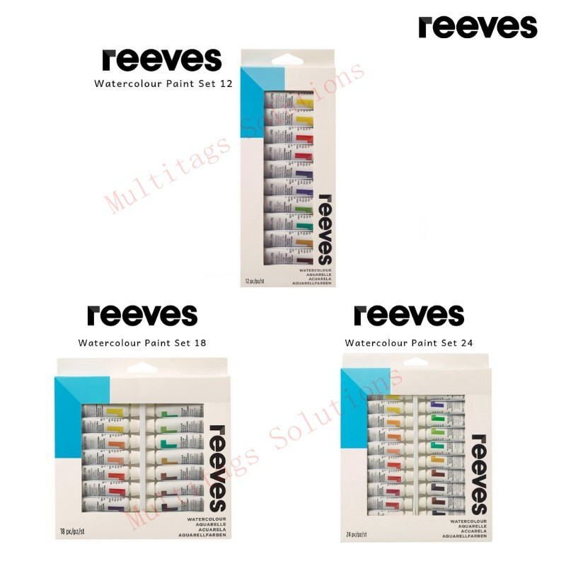Reeves 18x10ml Water Color Set/Artist Colours