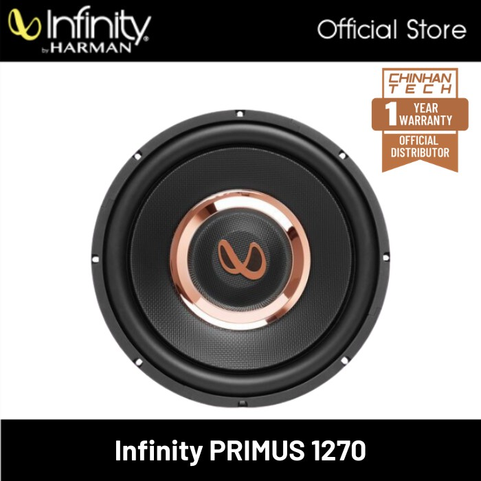 """Infinity Primus 1270 12"""" 4-ohm Component Subwoofer"""