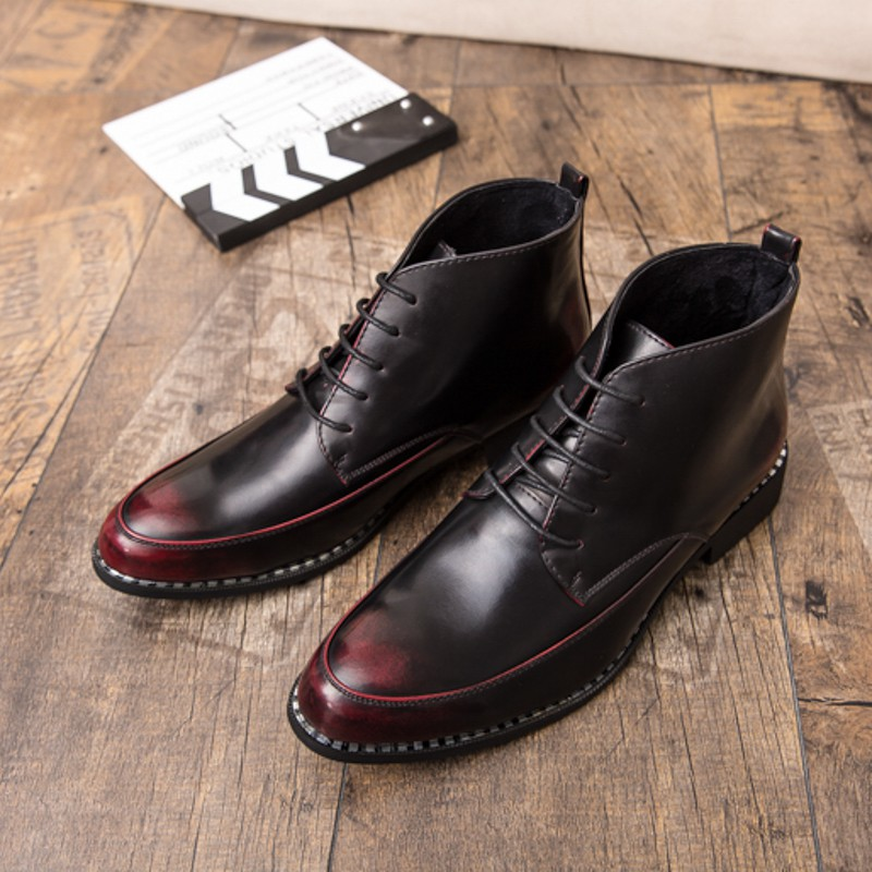 f34585ee0 ProductImage. ProductImage. Winter Men Boots Vintage High Tops Shoes  Steampunk Design Party Cool KL2490