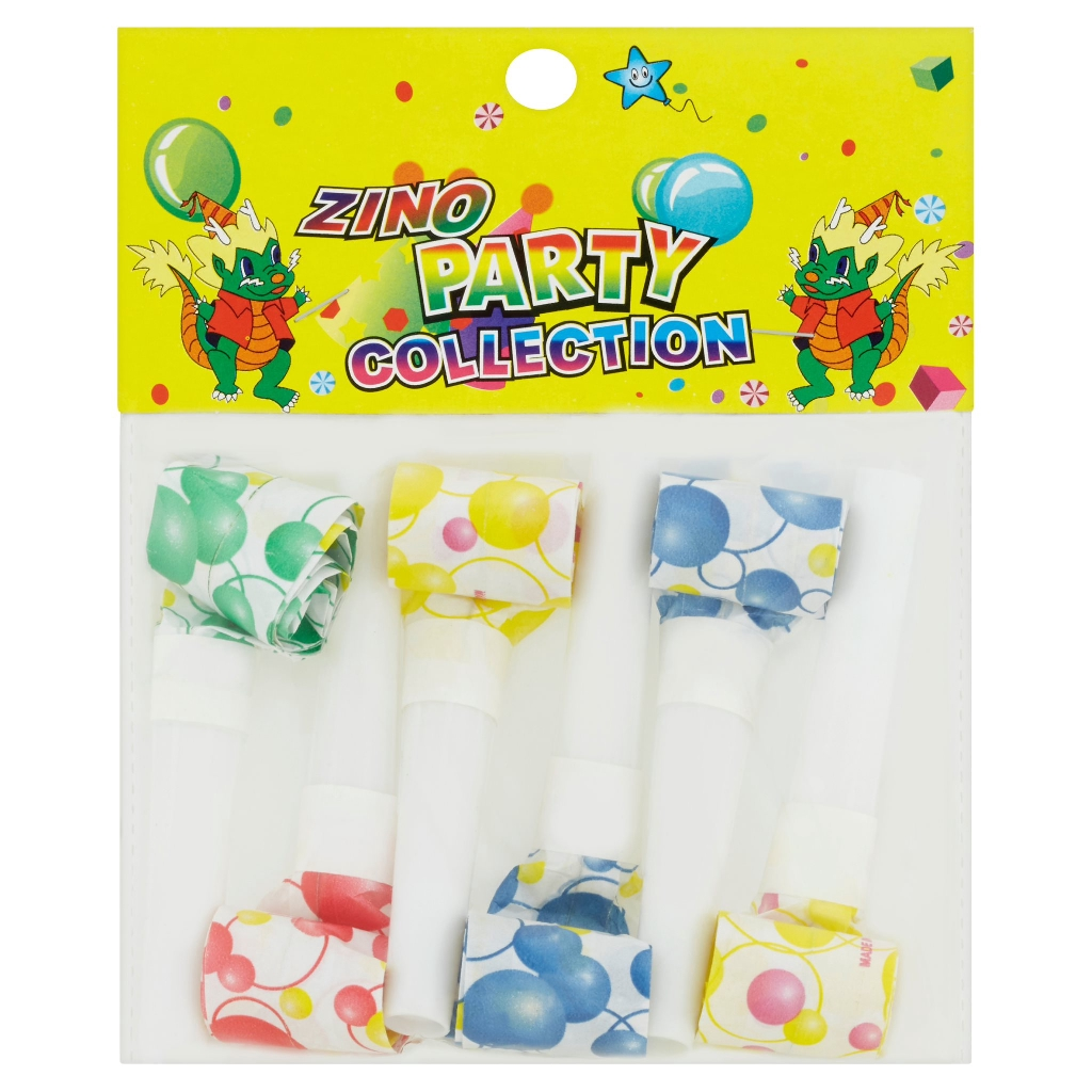 Zino Party Collection Blow Out Dragon (6 Pcs)