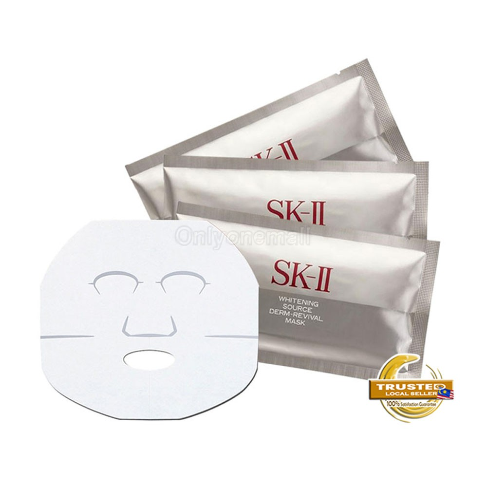 SK-II Whitening Source Derm Mask x 3pcs