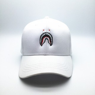 "Men/""s BAPE A BATHING APE Camo Hat Embroidery Shark Jaw Monkey Head Baseball Cap"