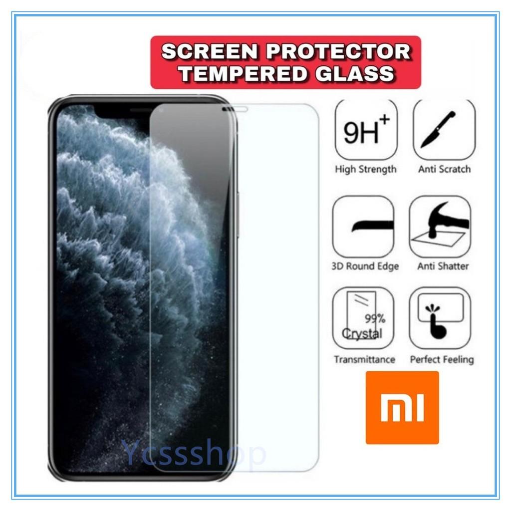 {Normal} Redmi Xiaomi Note 9 9S 10T Pro Poco F1 F2 Pro X3 normal clear tempered glass