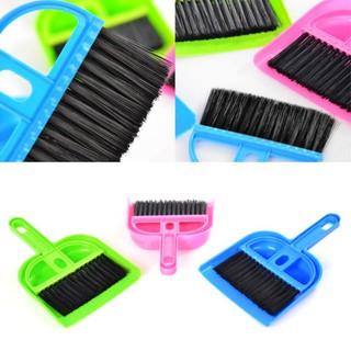 1 Set Mini Besom Dustpan Cleaning Kit Tools Mini Size