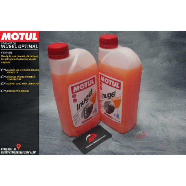 Motul racing inugel coolant orange proton perodua