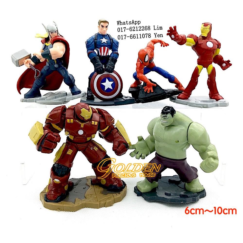 Marvel Civil War Captain America Super Hero Ant Man Wasp Mini PVC Action  Figure  99e643ab68be