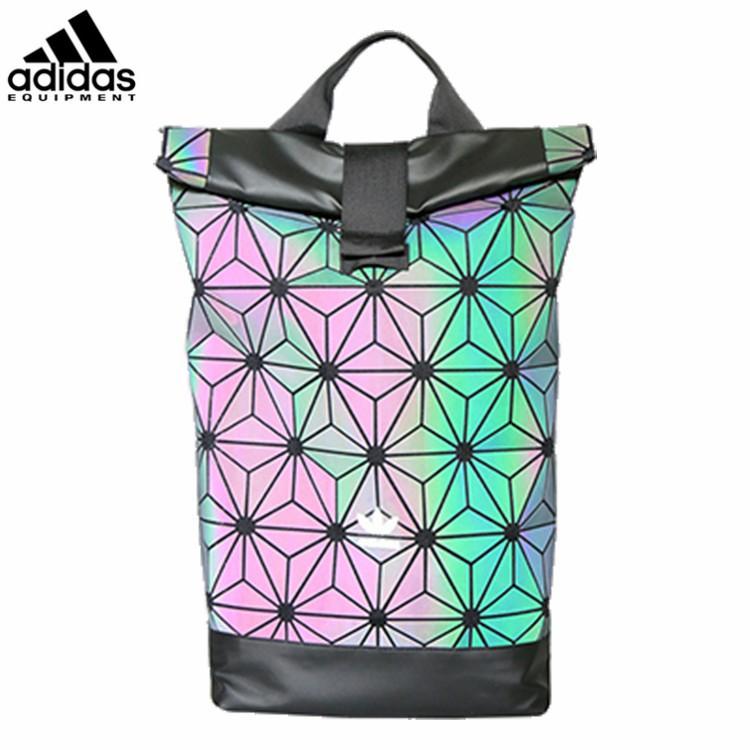 4fcdd66626c8 Ready Stock Adidas Backpack 3D Urban Laptop bag x Issey Miyake Mesh Roll Up