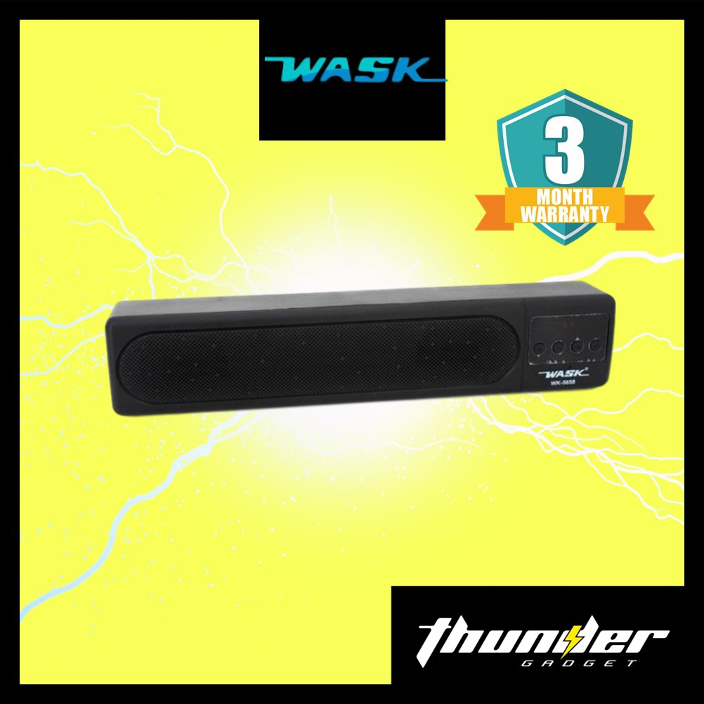 WASK WK-5658 Soundbar V5.0