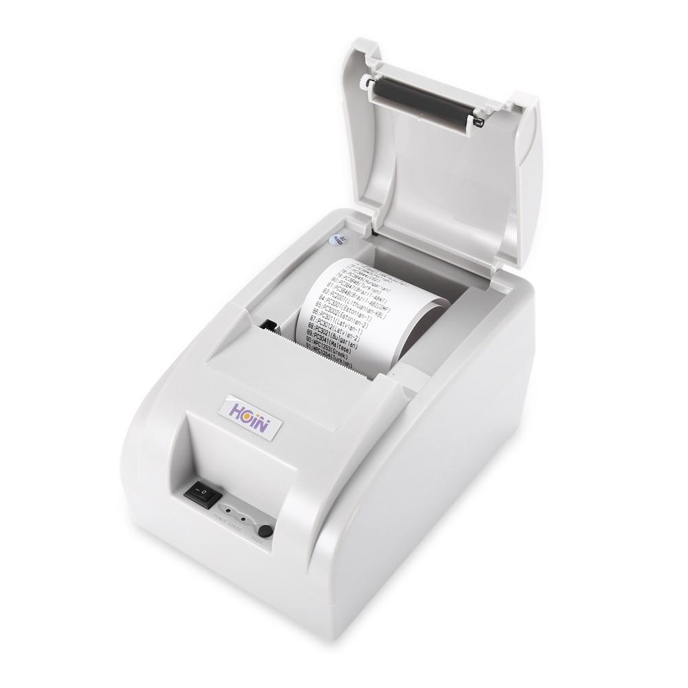 HOIN HOP-H58 USB/ Bluetooth Thermal Cash Receipt Printer POS Printing  Instrument