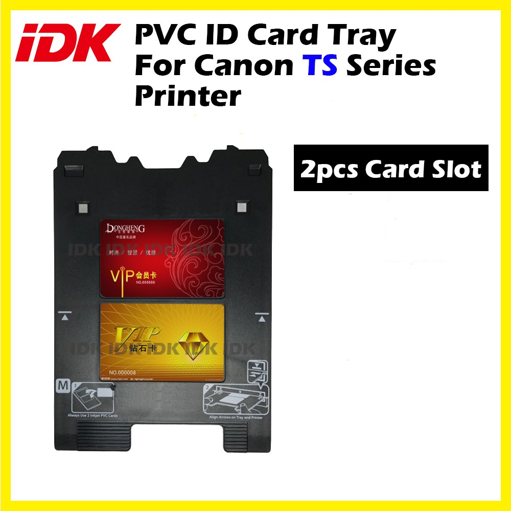 PVC Direct Print ID Card Tray For Canon TS Series Printer Use