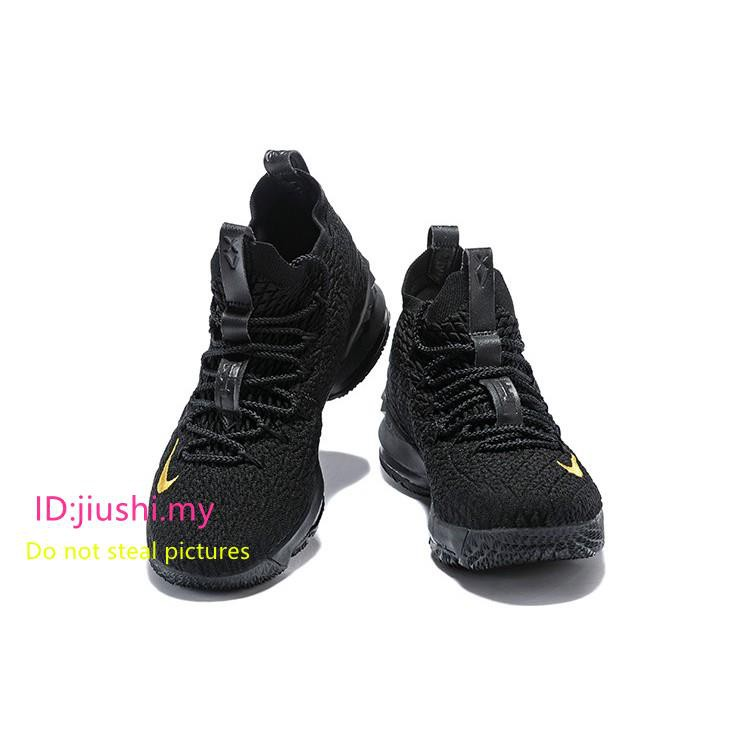 Nike Lebron 15 PK80 Special Sneakers Black Gold  bded6c8fd9