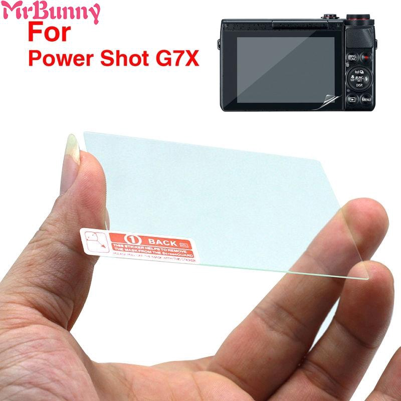 Tempered Glass or Film LCD Screen Protector for Canon PowerShot G7X G7 X Mark II