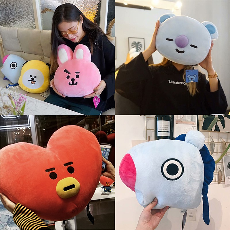 Costume Props Hearty Kpop Bts Exo Got7 Twice Army Wanan One Bt21 Army Bomb Light Stick Plush Throw Pillow Cute Sofa Cushion New Gifts Novelty & Special Use
