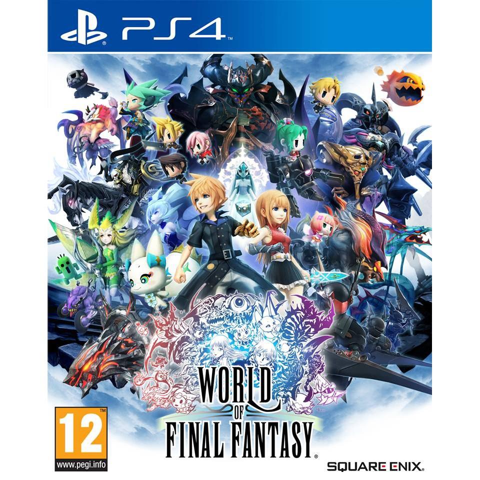 World of Final Fantasy English - PS4