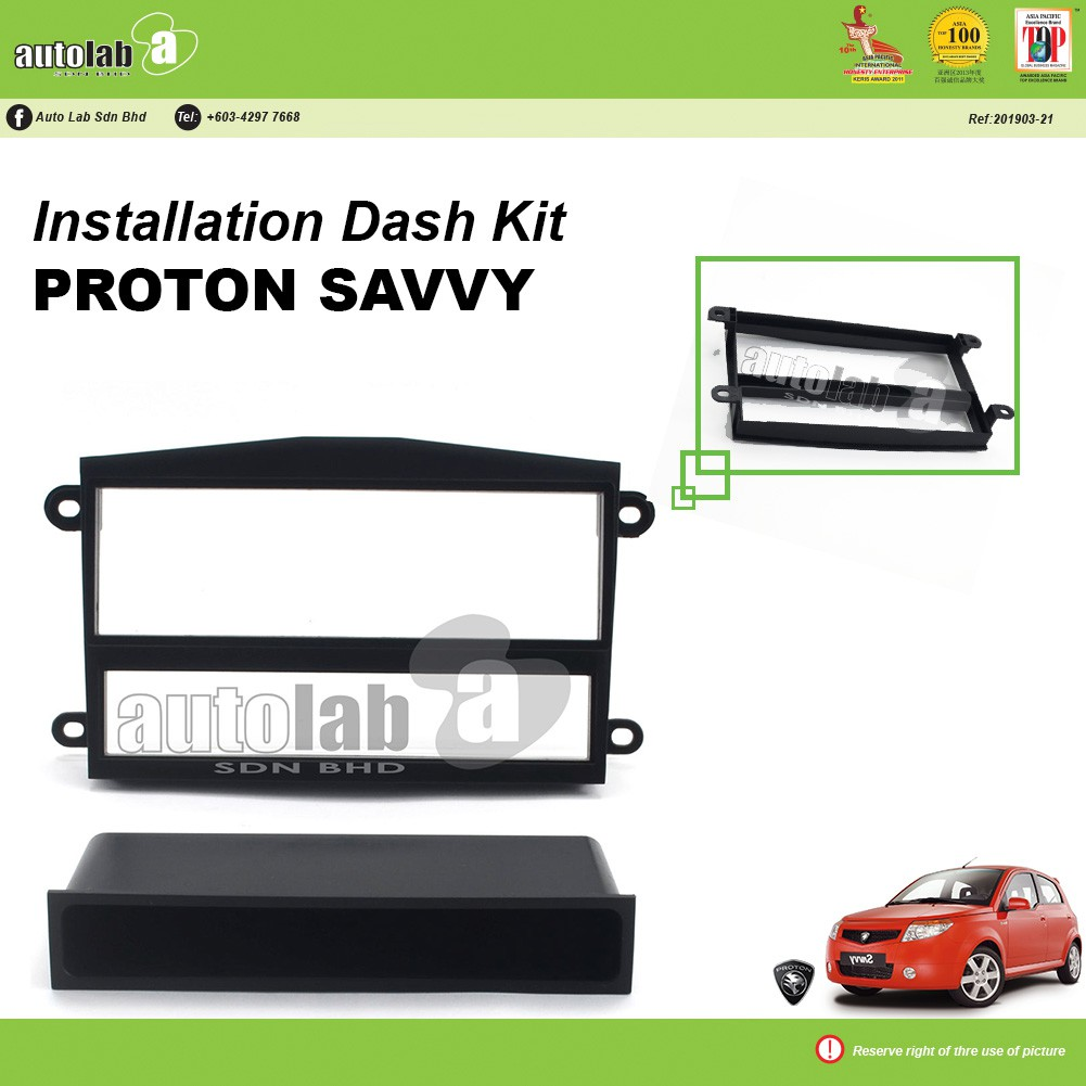 Player Casing Double Din Proton Savvy