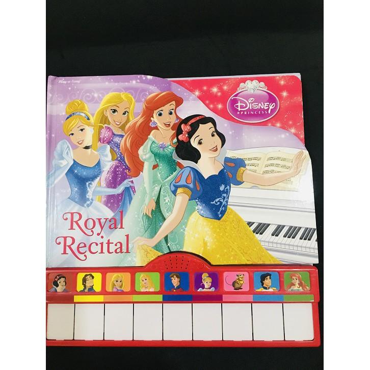 USED English Story Book - Disney Princess Royal Recital