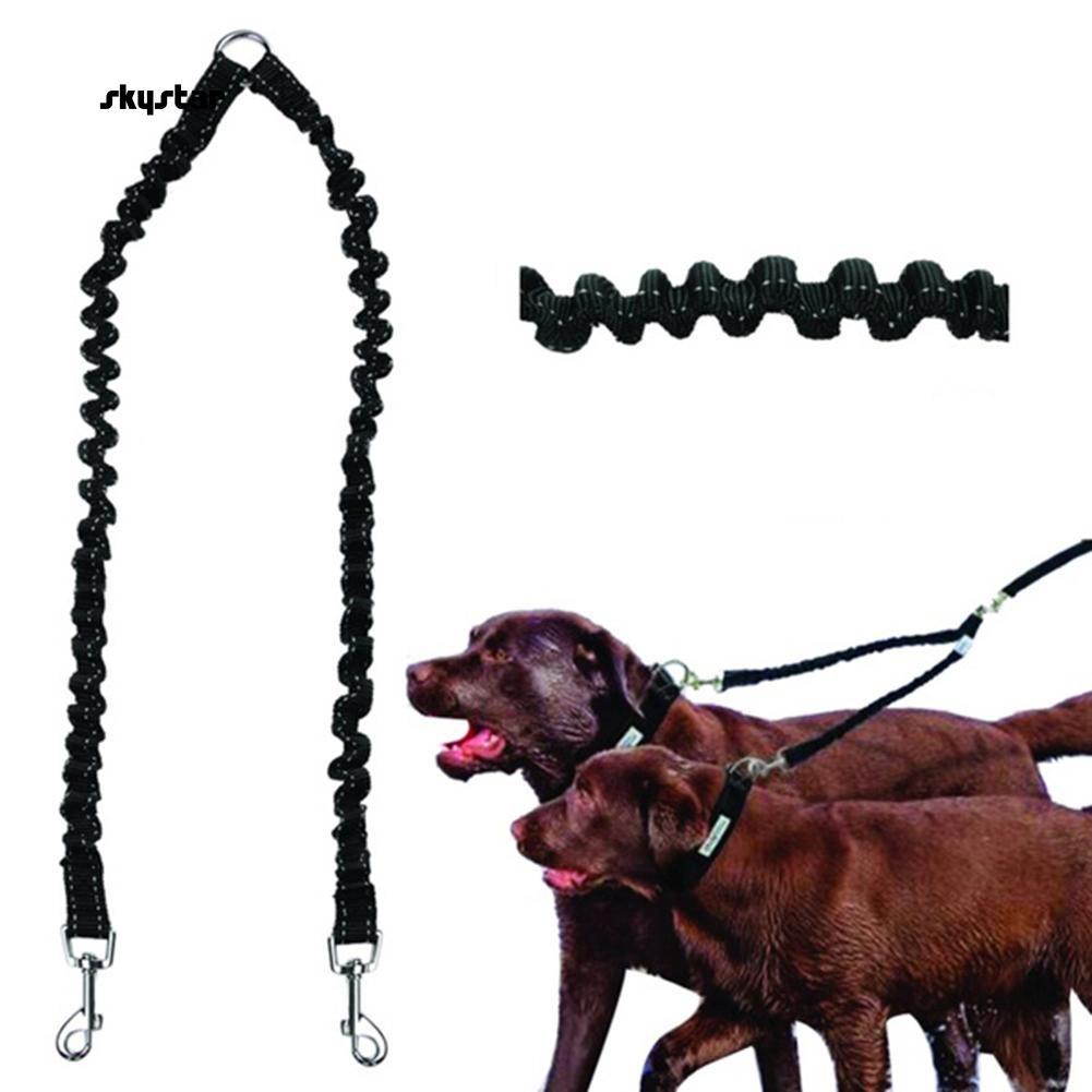 Leash  splitter for leading 2 dogs