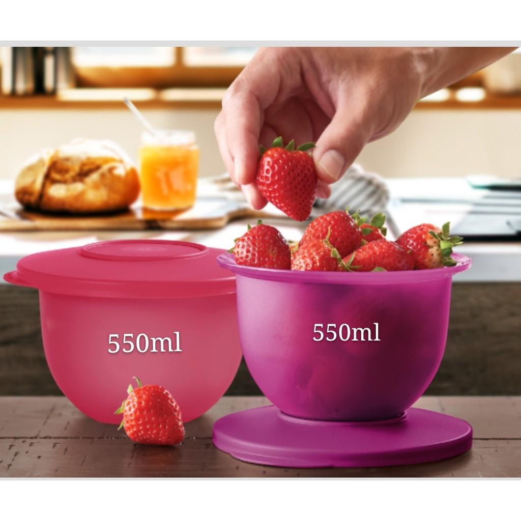 Tupperware Expression Bowl Set 550ml - Pink or Purple
