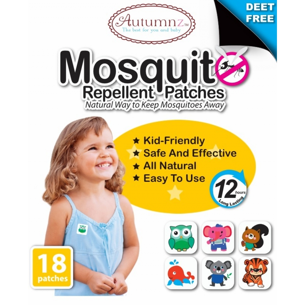 Autumnz Mosquito Repellent Patches (18 patches / pack)