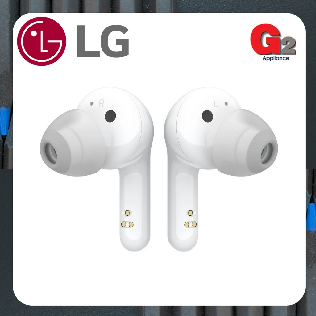 LG Bluetooth Wireless Stereo Earbuds with UVnano Charging Case HBS-FN6-LG Warranty Malaysia