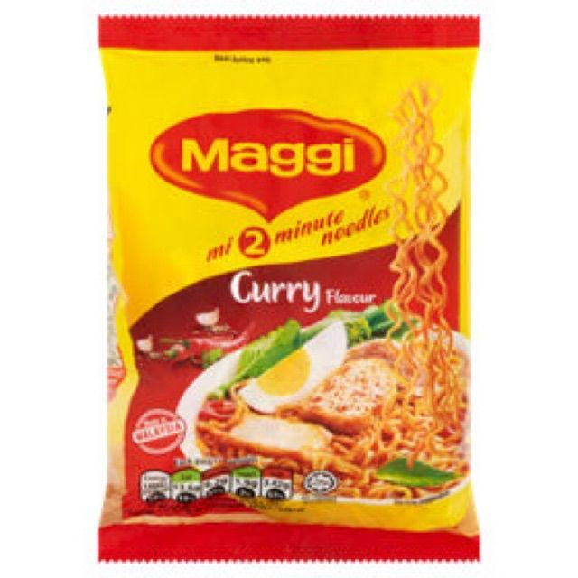 Maggi 2 Minutes Instant Noodle Curry Mee New Packaging | Shopee Malaysia
