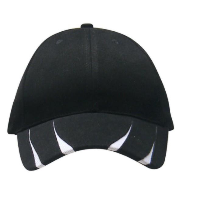 [READY STOCK]  Unisex 6 Panels Patterned Cotton Brush Caps
