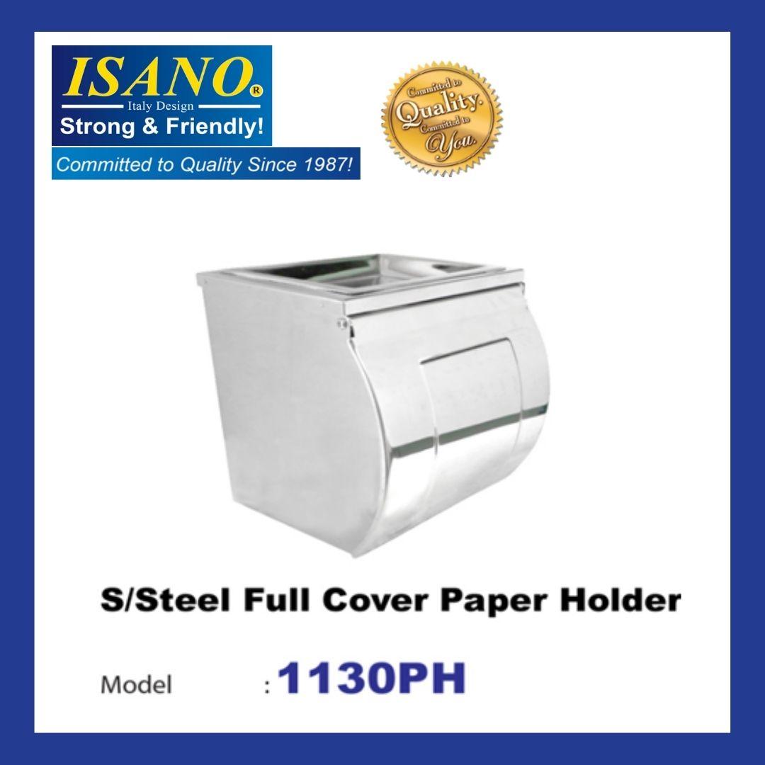 ISANO Stainless Steel Full Cover Paper Holder 1130PH