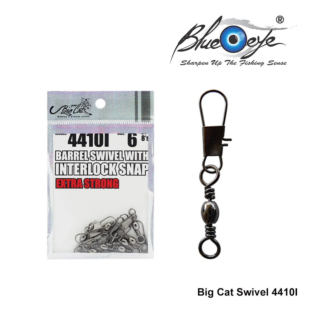 10Pcs Crane Fishing Swivel With Nice Safe Snap Size 4 Size Fishing Tackle BSCA