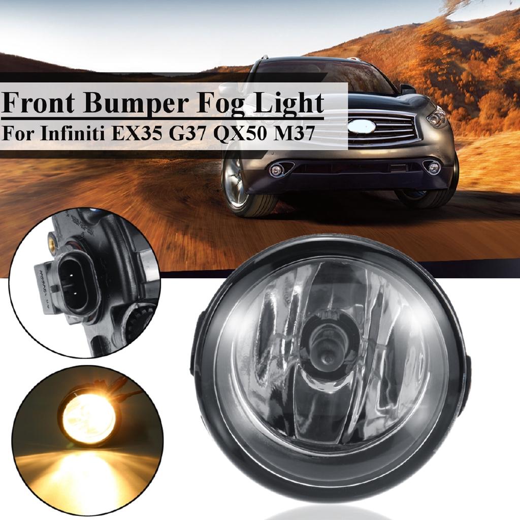 Front Fog Light w/Bulbs For Infiniti EX35 G37 QX50 M37/ Nissan Cube Quest  Rogue