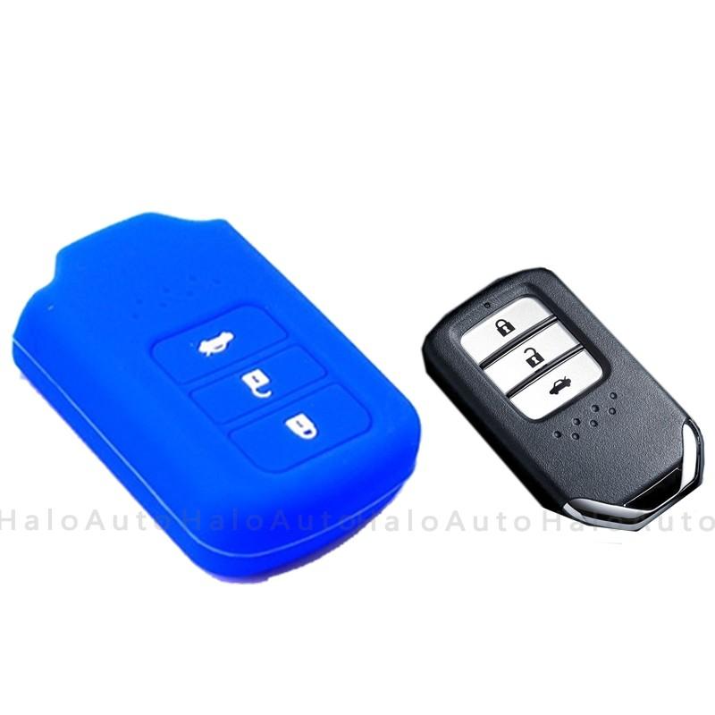 Silicone Car Key Cover Case For Honda City Accord Crv 2014 2018