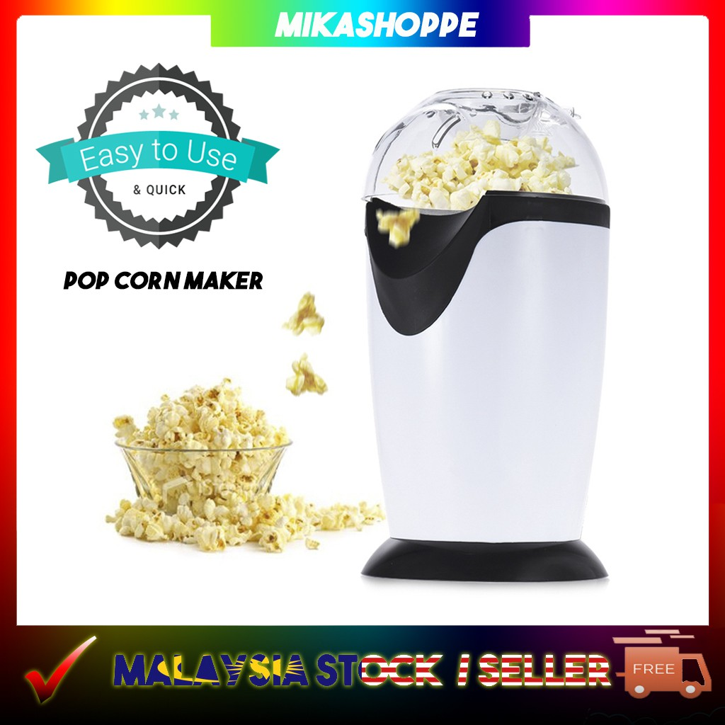 Popcorn Snack Maker Machine Pop Corn Making Portable Movie Snacks Mesin  Keropok