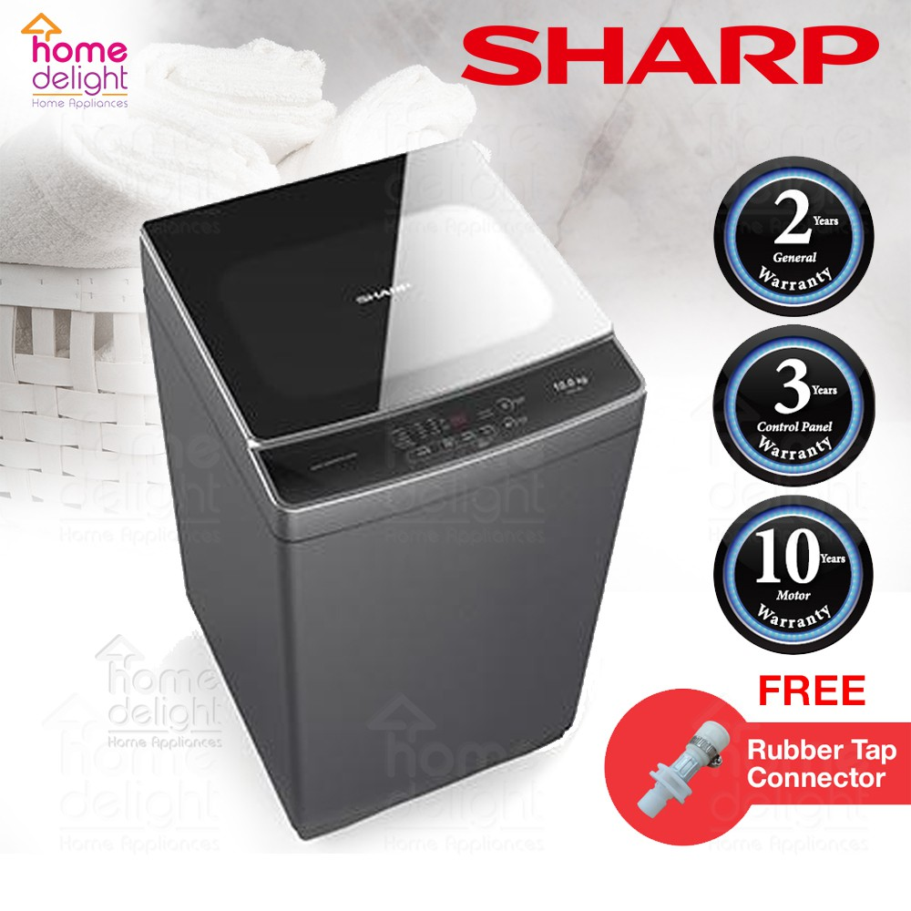 Sharp ESX1278 Fully-Auto Washing Machine 12KG